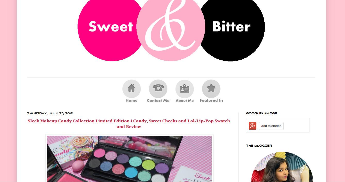 Do check her blog for an indulgent journey of colors, fashion, beauty ...