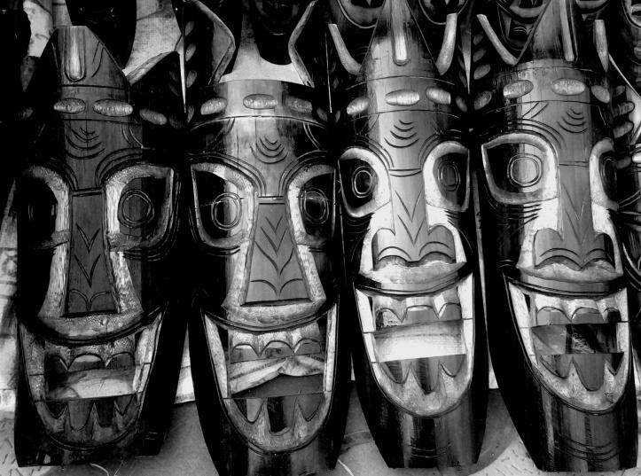 Bamboo Masks