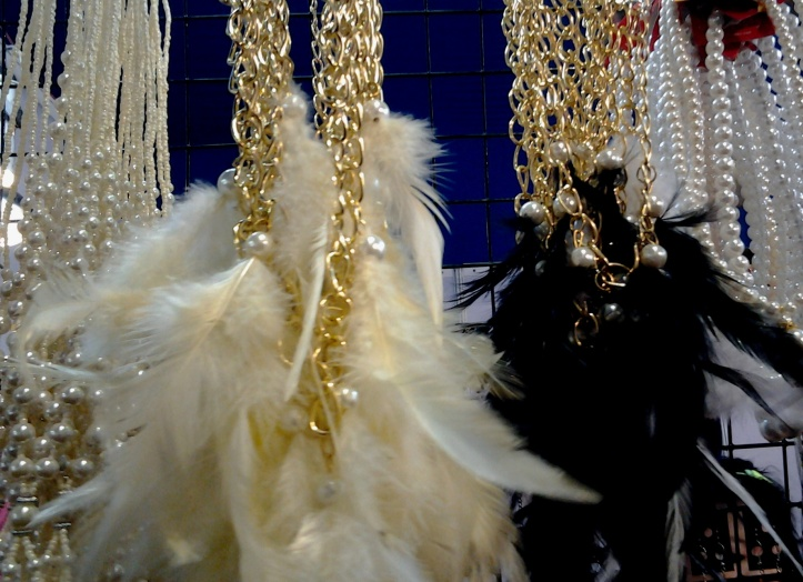 Feather Necklaces from Thailand