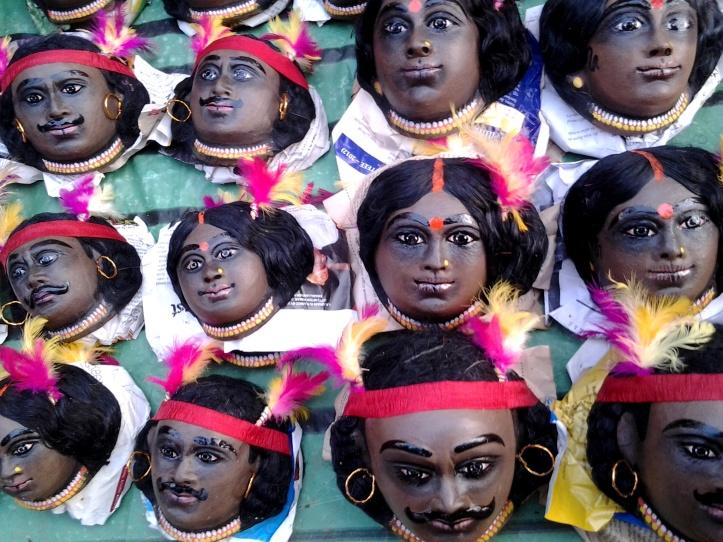 Saanthal masks