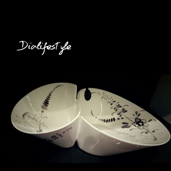 Abstract design tableware