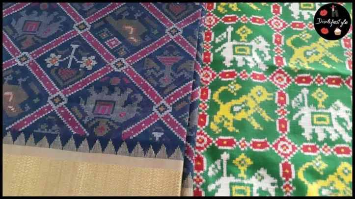 Gujarat's Patan Patola incorporated in Jamdani Weaves