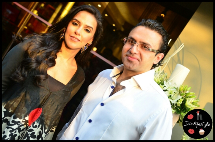 Ravish Kapoor with actress Neha Dhupia