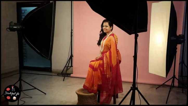 Blogger and Designer Anupriya getting shot