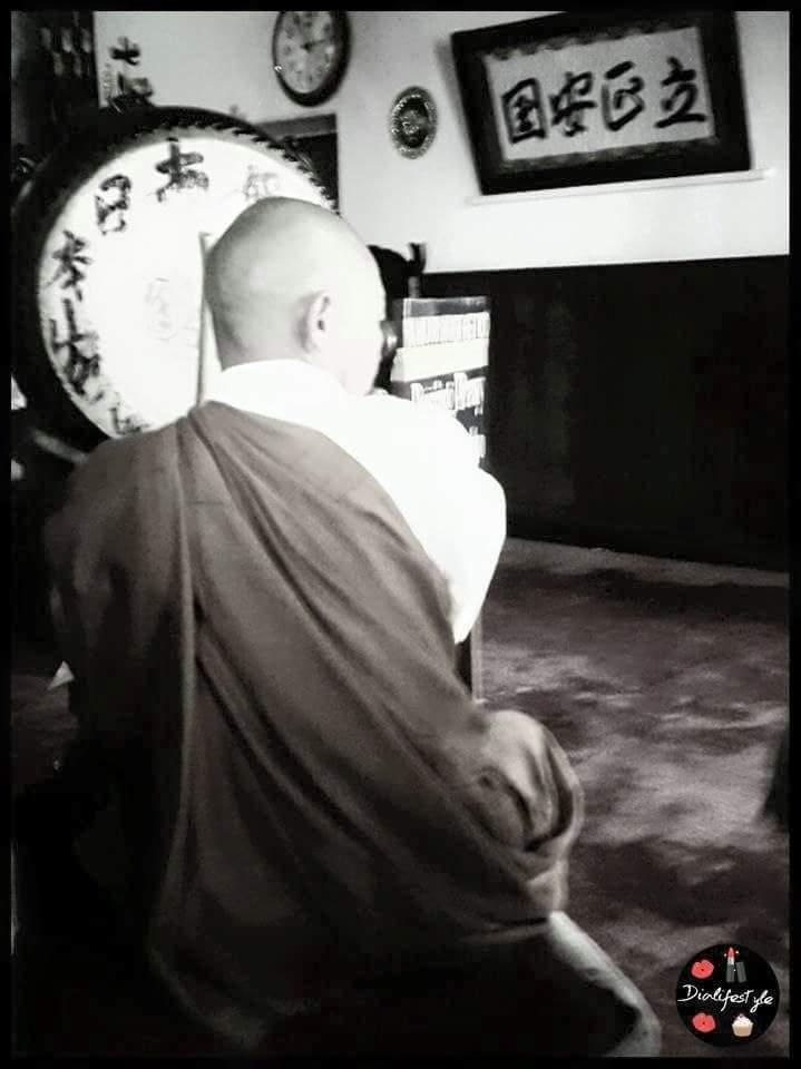 Prayer at the Pagoda