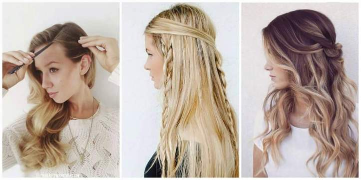 Image left: Found on thebeautydepartment.com, image in the centre: Found on latesthair.com, image right: Found on byrdie.com
