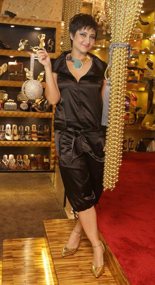 Actress Swastika Mukherjee at the store launch