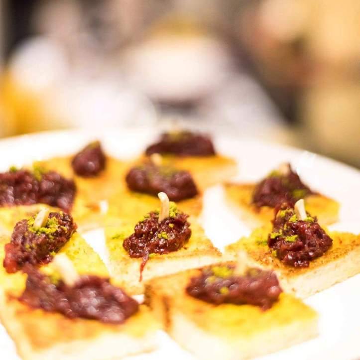 Beet Halwa Shahi Toast