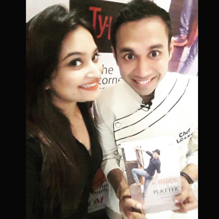 Selfie with Chef Saransh