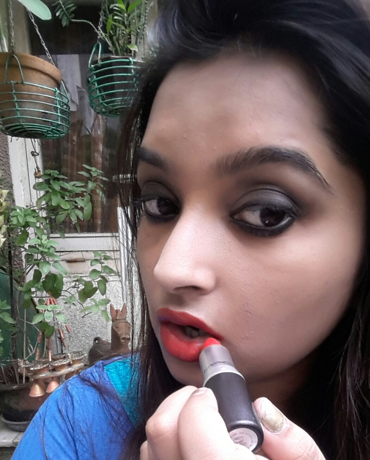 Wear your favorite shade of lipstick