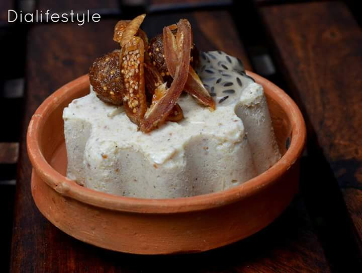 Fig and Dates Kulfi